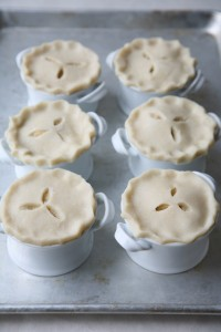 pies can be made in advance